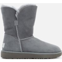 UGG Women's Classic Cuff Short Sheepskin Boots - Geyser - UK 8.5 - Grey