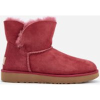 UGG Women's Classic Cuff Mini Sheepskin Boots - Garnet - UK 8.5 - Red