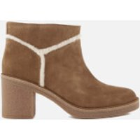 UGG Women's Kasen Suede Heeled Ankle Boots - Chestnut - UK 7.5 - Tan