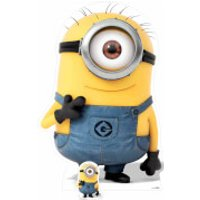 Despicable Me 3: Minion Carl Smiling Over-Sized Cut Out - Despicable Me Gifts