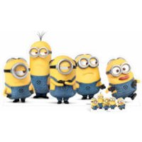 Despicable Me 3: Mischievous Minions Group Pose Over-Sized Cut Out - Despicable Me Gifts