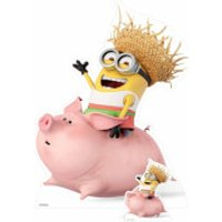 Despicable Me 3: Minion Riding a Pig Over-Sized Cut Out - Despicable Me Gifts