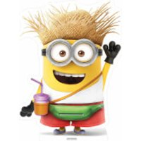 Despicable Me 3: Vacation Minion with Drink Small Cut Out - Minion Gifts