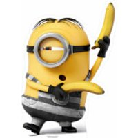 Despicable Me 3: Prison Minion with Bananas Small Cut Out - Despicable Me Gifts
