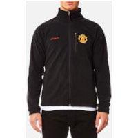 Columbia Mens Manchester United Fast Trek 2 Full Zip Fleece Jacket - Black - XXL - Black