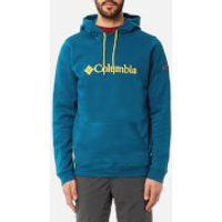 Columbia Mens CSC Basic Logo Hoody - Phoenix Blue/Antique Moss - XL - Blue