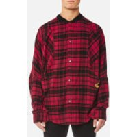 Vivienne Westwood Anglomania Mens Pierpoint Shirt - Red Tartan - S - Red