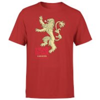Game of Thrones Lannister Hear Me Roar Mens Red T-Shirt - M - Red