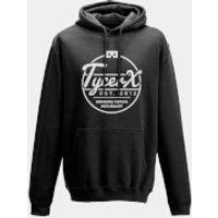 Tycerx Est. 2012 Bringing Virtual Into Reality Black Hoodie - XL