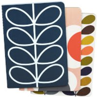Orla Kiely Mini Notebook - Multi (Set of 3)