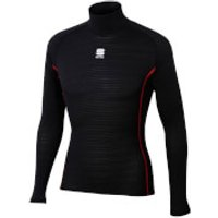 Sportful BodyFit Pro Long Sleeve Base Layer - Black - M - Black
