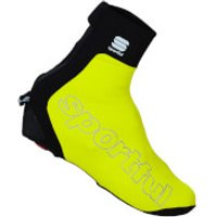 Sportful Roubaix Thermal Bootie - Yellow Fluo - M - Yellow Fluo