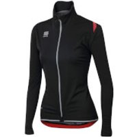 Sportful Womens Fiandre Ultimate Windstopper Jacket - Black - M - Black