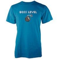 Boss Level Mens Blue T-Shirt - XXL - Blue