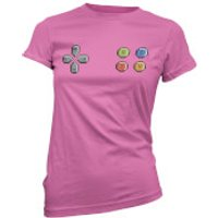 Gamer Pad Womens Pink T-Shirt - M