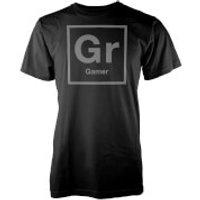 Gr Periodic Element Mens Black T-Shirt - M