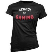 School of Gaming Womens Black T-Shirt - XL