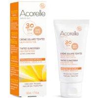 Acorelle Organic Tinted SPF50 Sunscreen - Gold 50ml