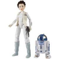 Figuras Princesa Leia y R2-D2 - Star Wars: Forces of Destiny