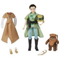 Figuras Princesa Leia y Ewok - Star Wars: Forces of Destiny