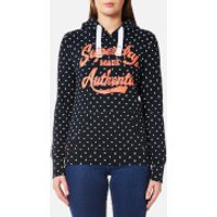Superdry Womens Made Authentic Hoody - Eclipse Navy - L - Navy