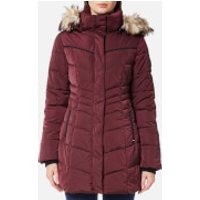 Superdry Womens Glacier Parka - Berry - S - Burgundy