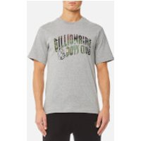 Billionaire Boys Club Mens Space Camo Arch Logo T-Shirt - Heather Grey - M - Grey
