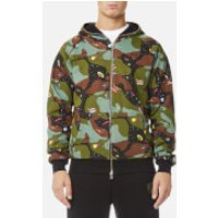 Billionaire Boys Club Mens All Over Space Camo Zip-Through Hoody - Black - L - Black
