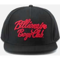Billionaire Boys Club Mens Script Logo Snapback Cap - Black