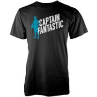 Captain Fantastic Mens Black T-Shirt - M