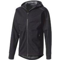 adidas Mens ZNE Duo Hoody - Black/Grey - L - Black/Grey