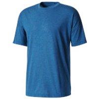 adidas Mens ZNE Training Track T-Shirt - Blue - XL - Blue
