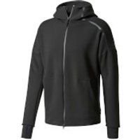 adidas Mens ZNE Training Hoody - Black - XL - Black