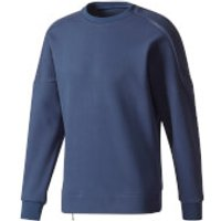 adidas Mens ZNE Training Crew Sweatshirt - Navy - S - Navy