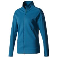 adidas Womens ZNE Light Cover Up Top - Blue - XS - Blue