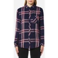 Rails Women's Hunter Check Shirt - Admiral/Cranberry Melange - S - Multi
