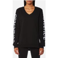 McQ Alexander McQueen Women's V-Neck Sweatshirt - Black - L - Black