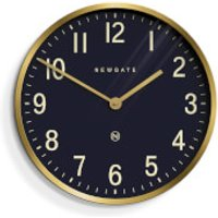 Newgate Master Edwards Wall Clock - Radial Brass