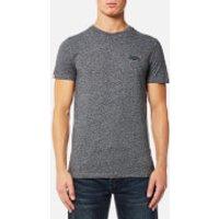 Superdry Mens Orange Label Vintage T-Shirt - Track Charcoal Grit - L - Track Charcoal Grit