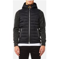 Superdry Mens Storm Hybrid Jacket - Gritty Black - M - Gritty Black