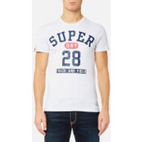 Superdry Mens Trackster Short Sleeve T-Shirt - Ice Marl - M - Ice Marl