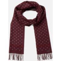 ted-baker-men-redpine-spot-scarf-dark-red