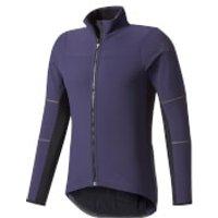 adidas Mens Climaheat Long Sleeve Winter Jacket - Navy - XL - Navy