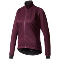 adidas Womens Warmtefront Long Sleeve Jacket - Burgundy - L - Burgundy