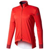 adidas Men's Adistar Long Sleeve Winter Jersey - Red - XL - Red