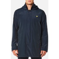 Lyle & Scott Mens Removable Hooded Mac - Navy Jacket - S - Navy