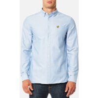 Lyle & Scott Men's Oxford Shirt - Riviera - L - Blue