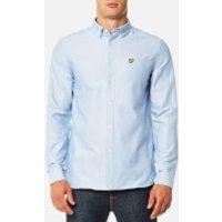 Lyle & Scott Men's Oxford Shirt - Riviera - XL - Blue