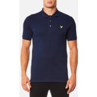 Lyle & Scott Mens Polo Shirt - Navy - XL