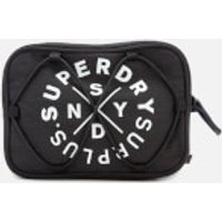 Superdry Mens Surplus Goods Travel Bag - Black Marl